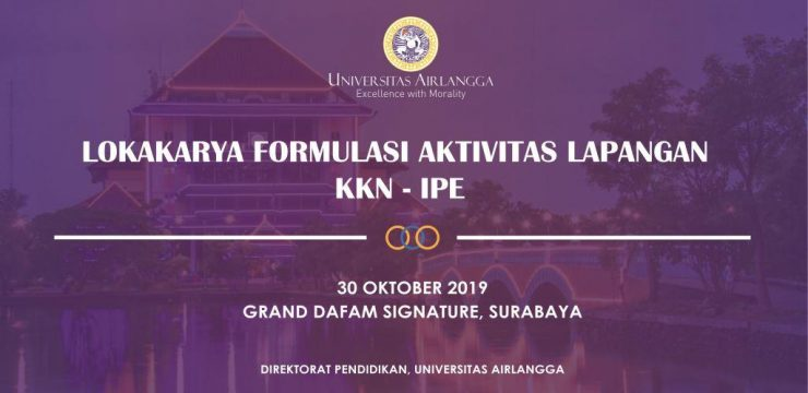 Lokakarya Formulasi Aktivitas Lapangan KKN Inter-Professional Education (IPE)